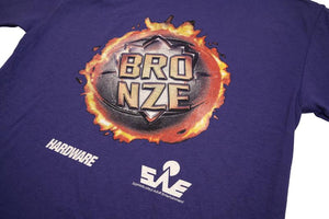 Bronze Jam SS T-Shirt Purple