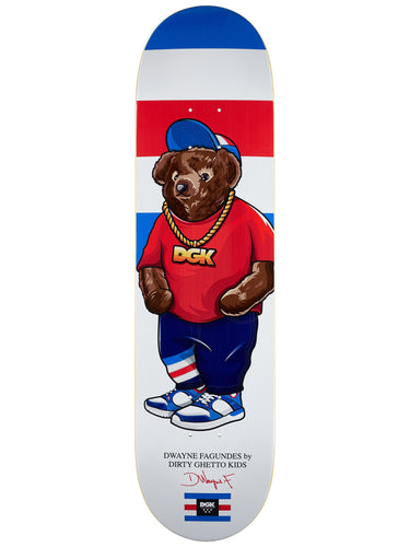 DGK Dirty Ghetto Bears Fagundes Deck