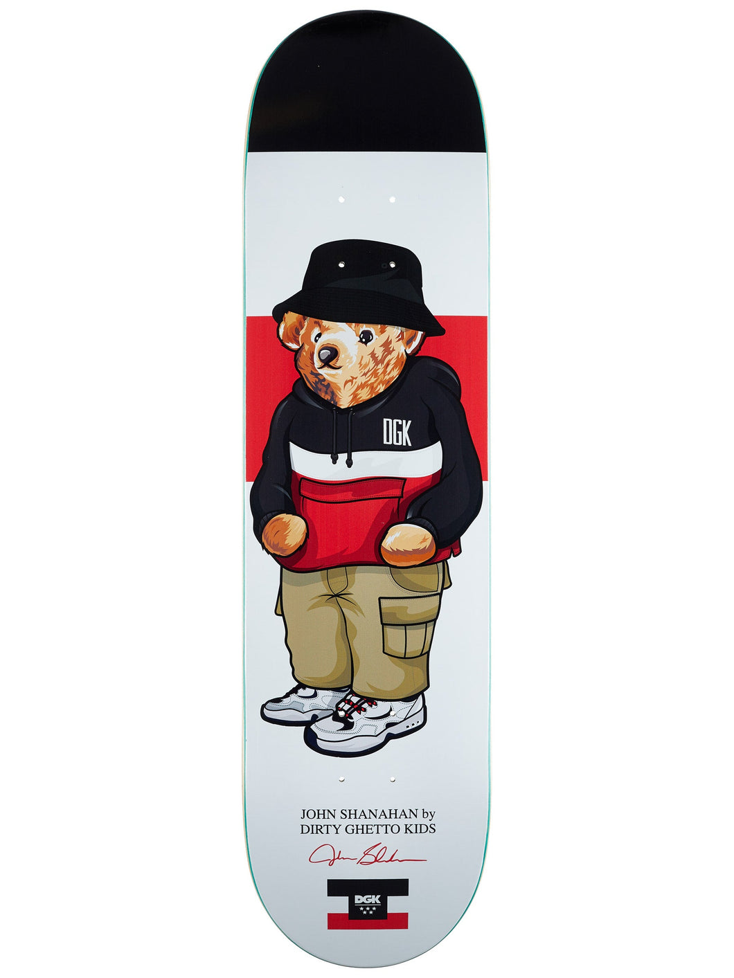DGK Dirty Ghetto Bears Shanahan Deck