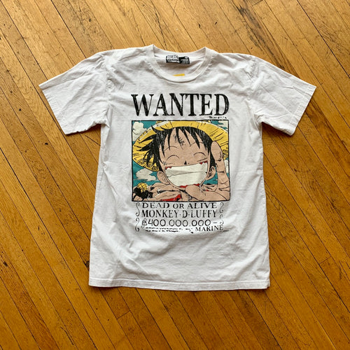 One Piece Luffy Wanted T-Shirt