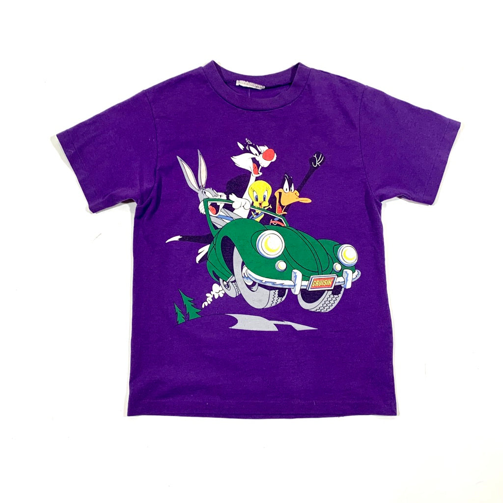Looney Toons Cruisin Double Sided Single Stitch T-Shirt