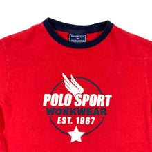 Load image into Gallery viewer, Polo Sport Workwear Ringer T-Shirt