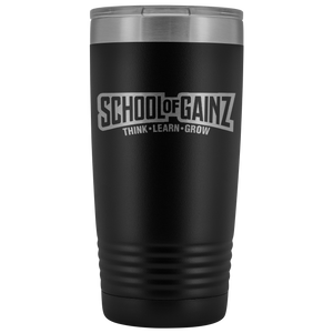 School Of Gainz - 20oz Tumbler