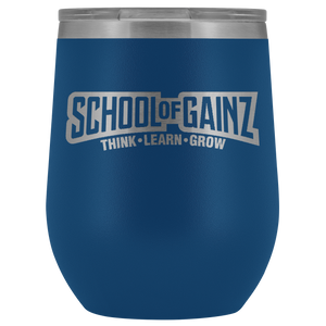 School Of Gainz - 12oz Tumbler