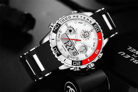 DUAL DISPLAY MEN'S SPORT WATCH - YULALI