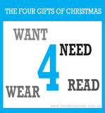 The 4 GIFTS of CHRISTMAS