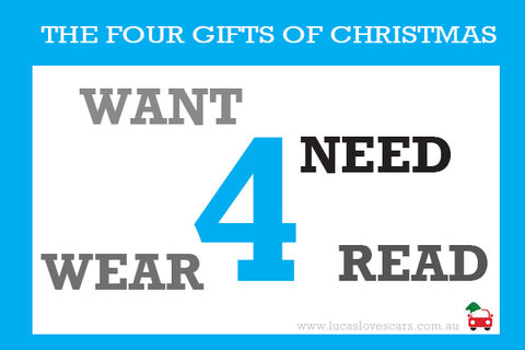 4 gifts of Christmas