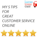 MY 5 TIPS ON GREAT CUSTOMER SERVICE ONLINE