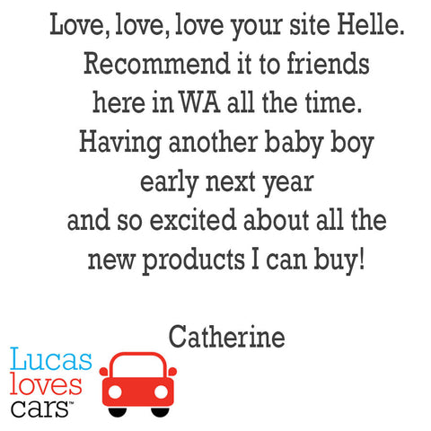 Testimonial for Lucas loves cars