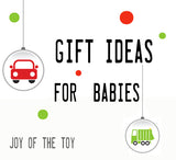 Gift guide for babies | Lucas loves cars