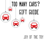 Too many cars gift guide  | Lucas loves cars