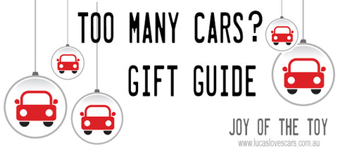 Cars gift guide | Lucas loves cars