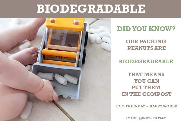 Biodegradable packaging | Kids toys | Eco toys | Lucas loves cars