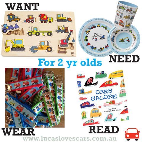 Gift ideas for 2 yr olds