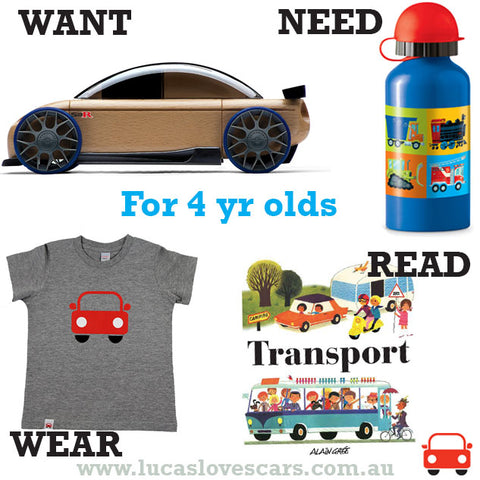 Gift ideas for 4 yr olds.