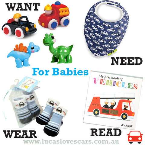 4 gifts for baby