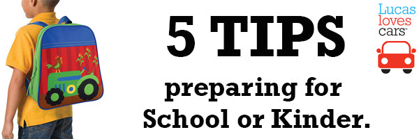 5 tips - preparing for school