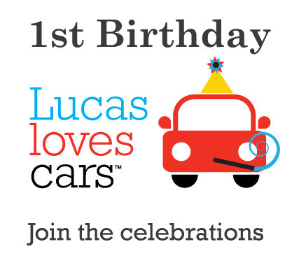 our 1st birthday celebrations � lucas loves cars