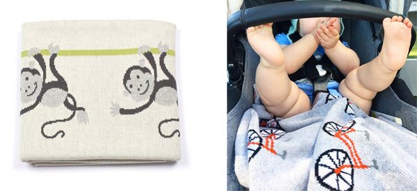 Baby blanket | Lucas loves cars