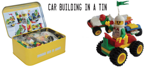 Car building in a tin