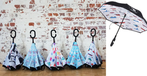 All4ella inside out Kids umbrellas  at Lucas loves cars