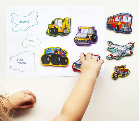 Match the shape | Lucas loves cars Play ideas