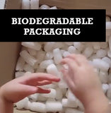 We use Biodegradable packaging.
