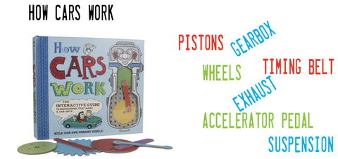 How Cars Work books