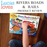 LUCAS LOVES.... RIVERS ROADS AND RAILS