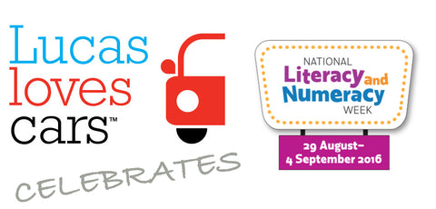 Lucas Loves Cars Celebrates Literacy and Numeracy Week