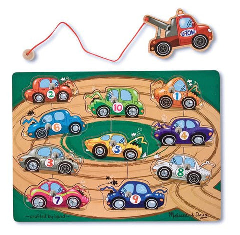 Magnetic Tow Truck Puzzle Game