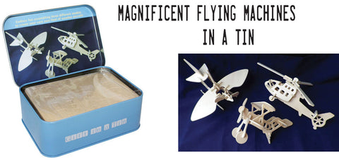 Magnificent Machines wooden planes kit