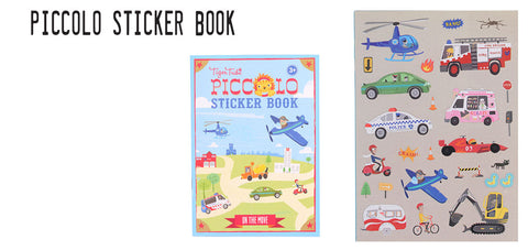Piccolo Tiger Tribe sticker book