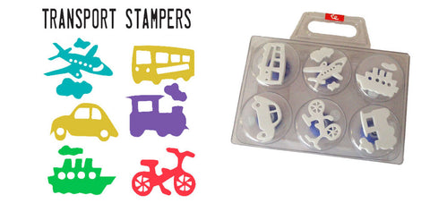Transport Stampers fun for kids
