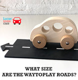How big are the WayToPlay roads?