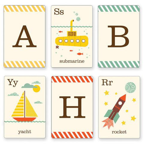 Alphabet Art cards - On the Go