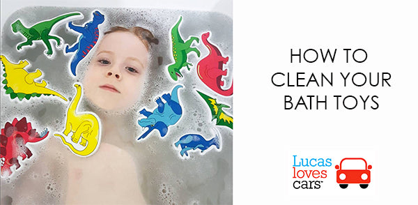 How to clean your bath toys