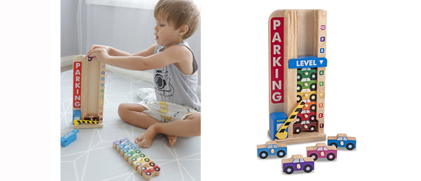 Learning through play | sort and stack | Lucas loves cars
