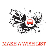 Make a wish list | Lucas loves cars