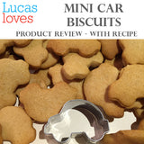 LUCAS LOVES...  LITTLE CAR BISCUITS