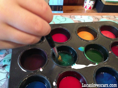 Home-Made Watercolour paints.