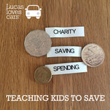 Setting up a Saving habit.