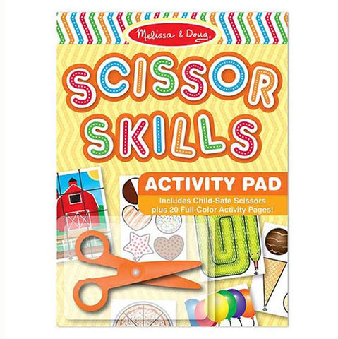 Scissor Skills Activity Pad | Melissa and doug | Lucas loves cars