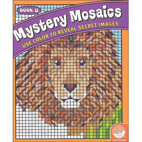 Mystery Mosaic | Lucas loves cars