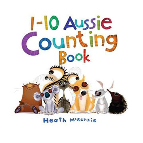 Aussie animals counting | kids books | best gifts from australia | Children's Activity Book