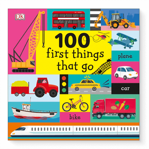 100 First Things That Go | Brumby Sunstate - supplier |  Lucas loves cars