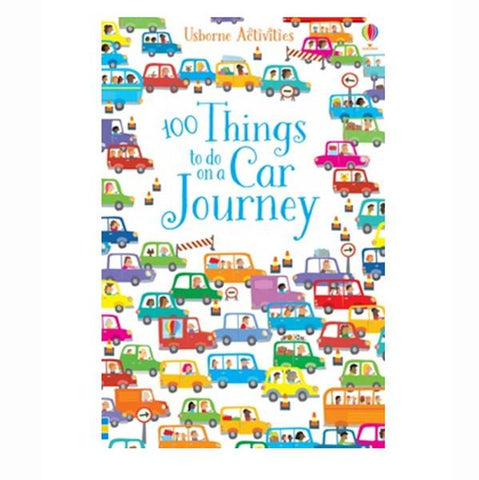 100 things to do on a car journey | Kids Book | Travelling with kids |  Lucas Loves Cars