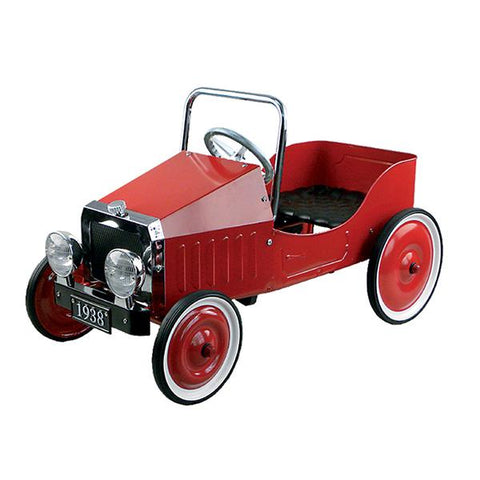Goki - Pedal car  - Red | GOKI |  Lucas loves cars