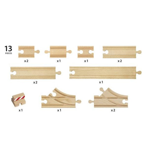 BRIO Train - Wooden starter track pack | Brio |  Lucas loves cars