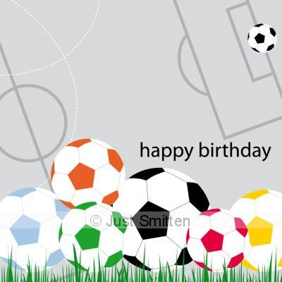 Cards - Small - Soccer love | Just Smitten |  Lucas loves cars